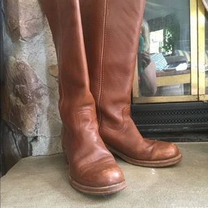 VINTAGE FRYE LEATHER CAMPUS BOOTS!